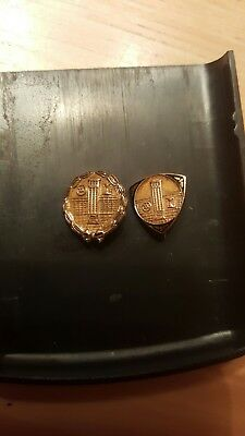 10k gold service/award pins scrap, wear, collect or resell (3 grams)