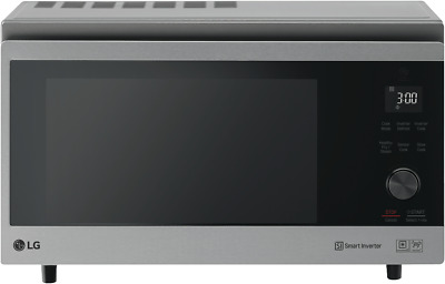 NEW LG MJ3966ASS NeoChef 39L 1100W Stainless Steel Convection Oven