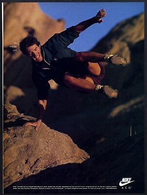 """1992 Print Ad Nike ACG Gear. """"Or maybe not."""""""