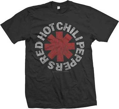 RED HOT CHILI PEPPERS - Vintage Logo - T SHIRT S-M-L-XL-2XL Brand New !!!