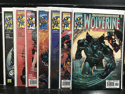 Lot of 7 Wolverine #156 157 158 159 160 161 162 (1988 Marvel) Combined Shipping!