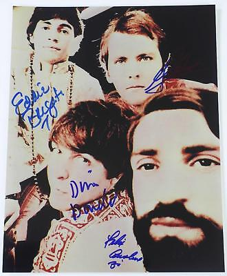 THE YOUNG RASCALS Signed Autograph 11x14 Photo by All 4 Members THE RASCALS
