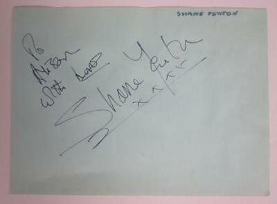 WARRANT JANI LANE Band SIGNED Autograph Photo POSTER Glam Metal OOP