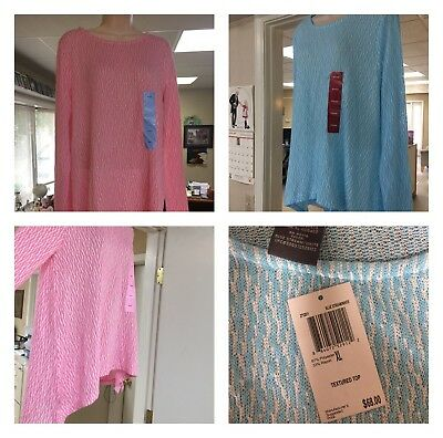 $3100 RV Huge Wholesale Lot. NWT, Pink & Blue, Lightweight, Sweaters. S-xxl.
