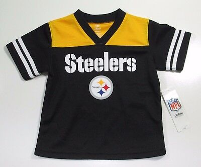 642c5bee PITTSBURGH STEELERS #7 NFL Black Reebok Jersey Toddler 3T little ...