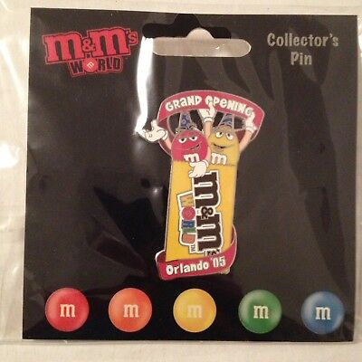 M&M CANDIES Orlando 2005 Grand Opening LIMITED EDITION COLLECTIBLE PIN