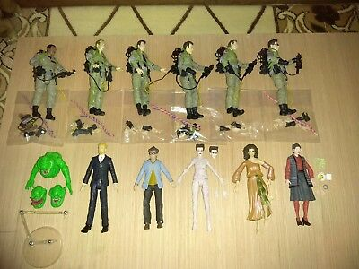 Diamond select ghostbusters lot of 12 all accessories included