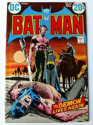 Batman #244 NM- 9.2 HIGH GRADE DC Comic Ra's al Ghul Cover Neal Adams