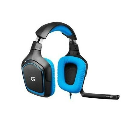 Logitech G430 Gaming Headset 7.1 Surround sound | Noise cancelling Mic