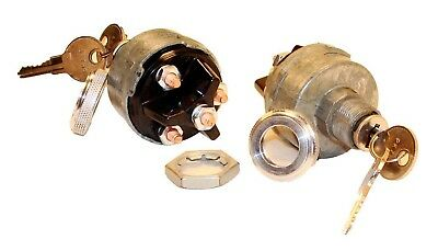 American Autowire Round Key Ignition Switch P/N 500006