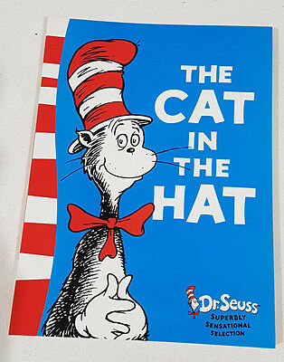 The Cat in the Hat by Dr Seuss - Soft Cover Book