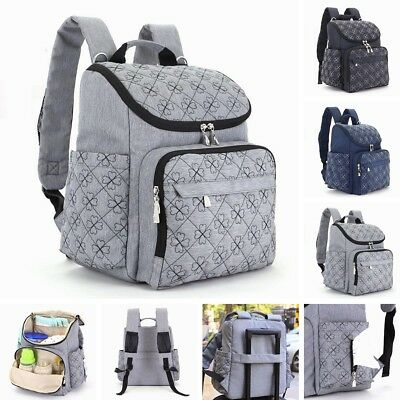 Mummy Maternity Baby Diaper Bag Travel Nappy Organizer Nursing Backpack Large
