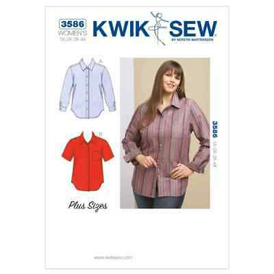 Kwik Sew Sewing Pattern K3586 Shirts
