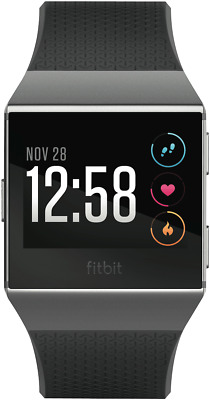 NEW Fitbit 3709169 Ionic Charcoal/Smoke Grey