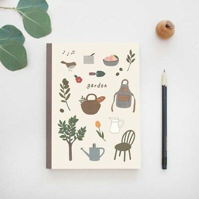2018 Garden Diary Full Year Planner Scheduler Diary Monthly Note