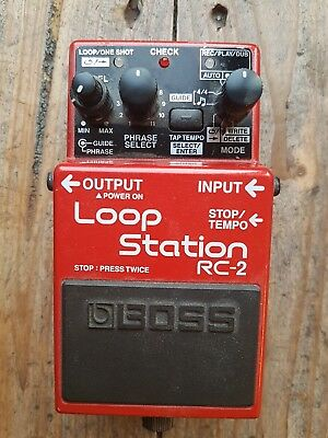 Boss RC-2 Loop Station Top Zustand
