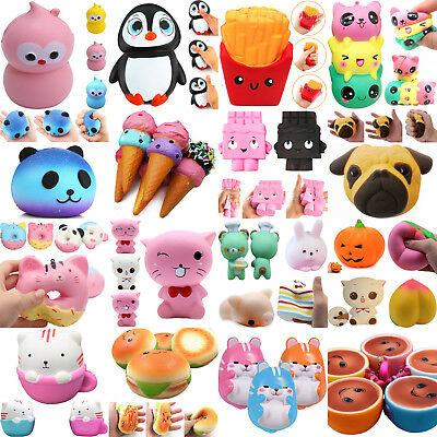 Jumbo Slow Rising Squishies Scented Charms Kawaii Squishy Squeeze Toy Gift NT