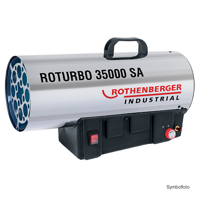 Rothenberger Industrial Gasheizkanone Roturbo 35000 SA Heizgerät - Neue Version!