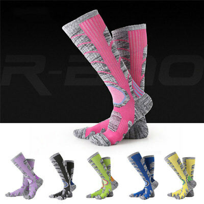 Men's Women's Thermal Winter Thick Cotton Warm Ski Hiking Sports Long Boot Socks