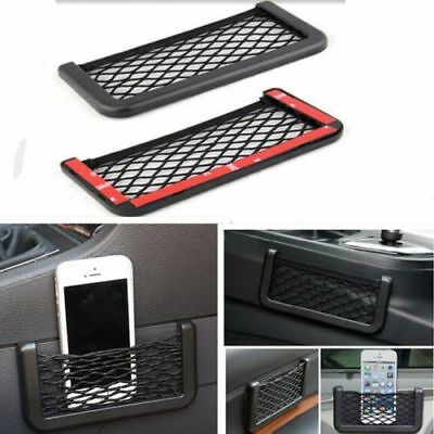 Storage Tuck Net String Bag Ticket Pocket Organizer Phone Holder For 4WD OffRoad