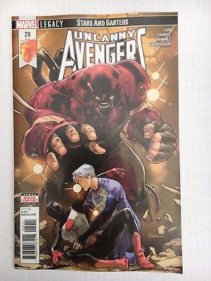 Marvel Comics: The Uncanny Avengers #29 (2018) - BN - Bagged and Boarded