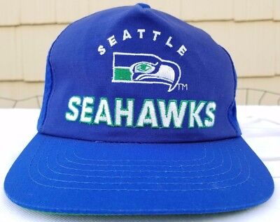 SEATTLE SEAHAWKS SNAPBACK cap Sports Specialties NFL hat vintage 90s ... 7105047c1