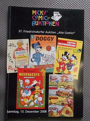 27. Comic Auktion Micky Waue