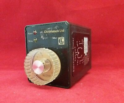 Chromalock 0-10 Second Electrictronic Timer 24Vdc D104