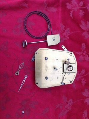 Rare Empire Deluxe Striking Clock Movement Back Wind With Platform Running