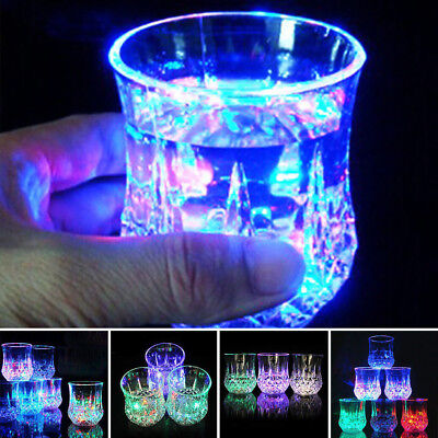 Automatic LED Flashing Dragon Cup Mug Bar Water Sensor Colorful Luminous Cup