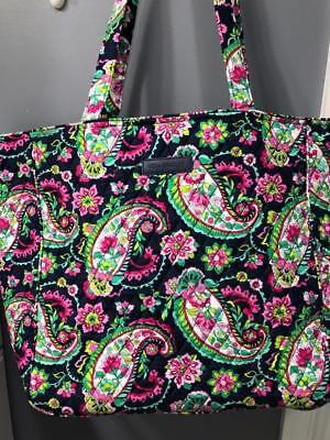 Vera Bradley ~Petal Paisley~ Grand Tote Very Large New With Tags