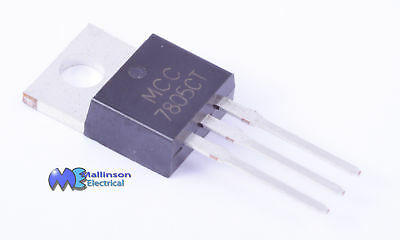 LM7805 7805 Positive Voltage Regulator +5v 1A TO-220AB