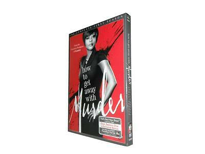 How to Get Away with Murder: The Complete First Season 1 (DVD, 2015, 3-Disc Set)