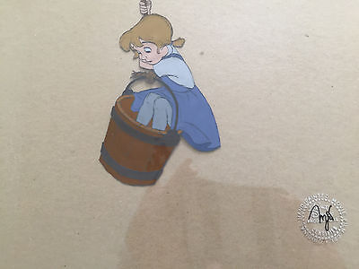 An original cel from the movie the Rescuers