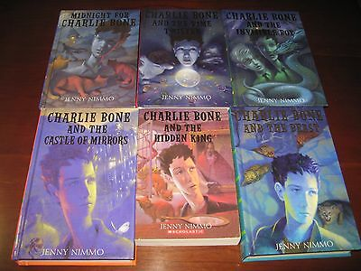 Charlie Bone lot 1 2 3 4 5 6 most HC Jenny Nimmo Children of the Red King series