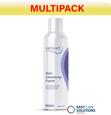 Vernacare Senset Skin Cleansing Foam - 300 ml Pack of 12