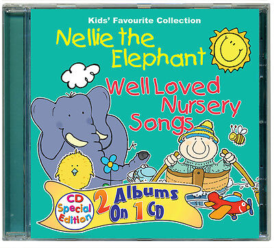 Nellie the Elephant & Well Loved Nursery Songs children's CD  *NEW & WRAPPED*