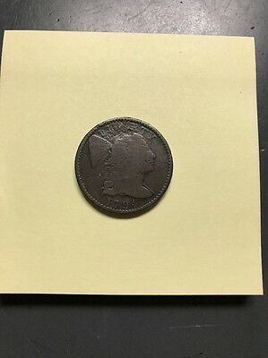 1794 U.S. Liberty Cap Large Cent- Head Of 1795