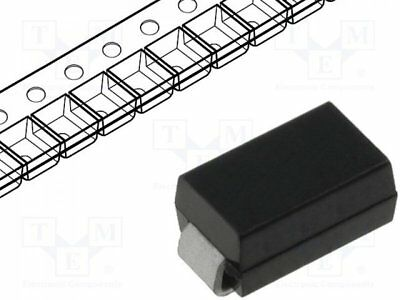 10 st Diode: Gleichrichter; SMD; 800V; 1A; 500ns; Verpackung: Rolle, Band