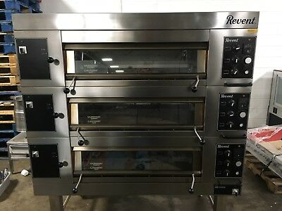 2012 Revent 649 Triple Deck Bread Oven w/ Dial Controls  Works Great!