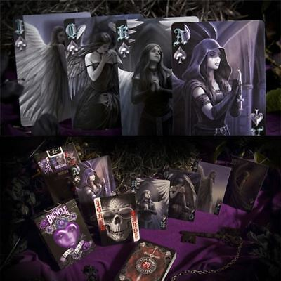 Bicycle Anne Stokes Dark Hearts Artwork Playing Cards Casino Poker Deck