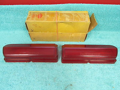 1962 Buick Le Sabre & Invicta  Stop / Tail Light Lenses  Pair  New 1216