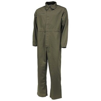 Green Dutch Army Coveralls Boilersuit Used DIY Paintball Overalls Olive Military