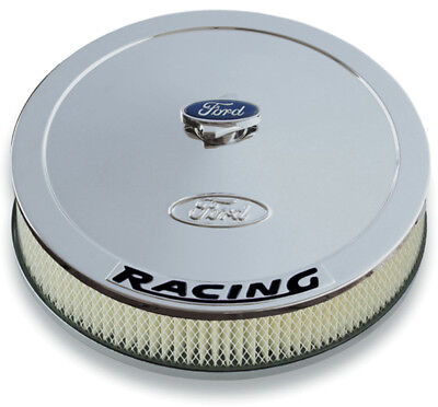 PROFORM 13 in Round Chrome Steel Air Cleaner Assembly P/N 302-351