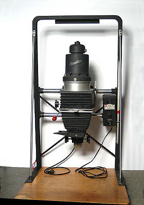 Beseler 45M enlarger complete with condenser lamphouse, 4x5 carrier & lensboard