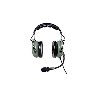 Nicepower Pilot An-1000A Passive Noise Cancelling General Aviation Headset (Gree