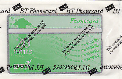 BT 20 Units Phonecard. New and Sealed.