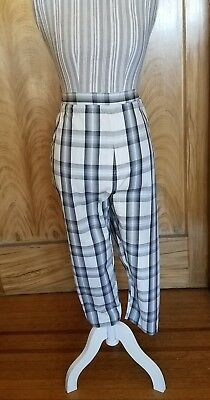 Flawless! 1950s 1960s VTG cigarette pants M/L