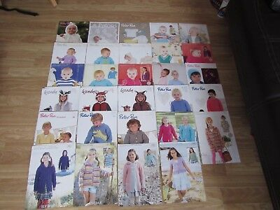 Knitting/crochet Patterns For Babies/children's Jumpers/cardigans/shawls/hats