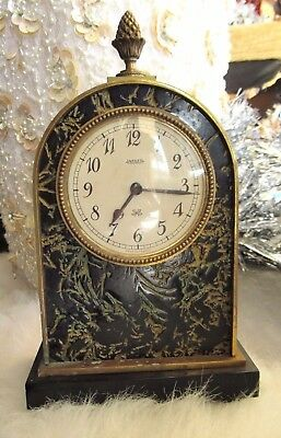 Absolutely Gorgeous Jaeger Electric Made In France Bronze Decorative Clock!